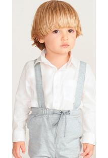 Camisa Bebê Menino Impermeável