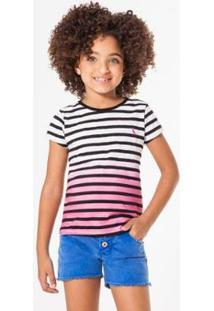 Camiseta Listra Imersão Reserva Mini Feminina - Feminino-Pink