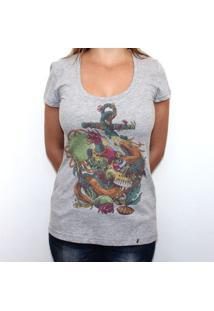 Afterdeath - Camiseta Clássica Feminina