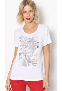 "Camiseta """"The Evolution""- Branca & Cinza- Forumforum"