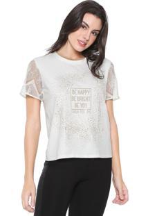 Camiseta Lança Perfume Hotfix Off-White