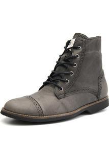 Bota Casual Masculina Shoes Grand 56160/2 Chumbo