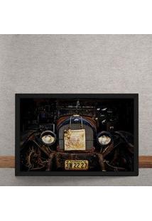 Quadro Decorativo Bentley Antigo 25X35