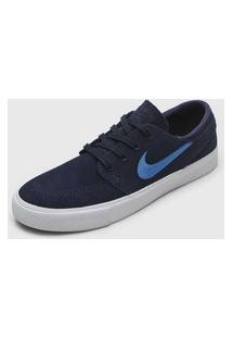 Tênis Nike Sb Zoom Janoski Rm Azul-Marinho