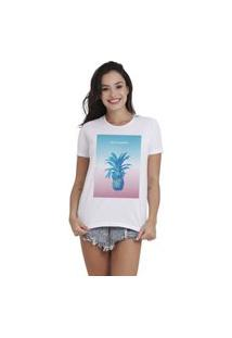 Camiseta Jay Jay Basica Filthy Summers Branca Dtg