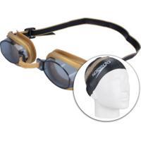 Oculos De Natação Centauro Kit   Shoes4you 3b3a83bbeb