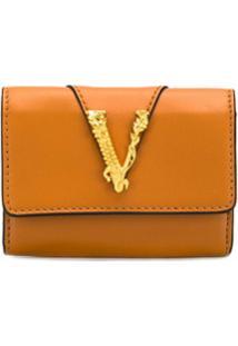Versace Clutch Virtus - Marrom