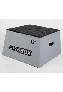 Banco Para Salto Pliométrico Plyo Box - 12? (30,48Cm) - Unissex