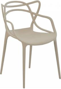 Cadeira Allegra Masters De Polipropileno Rivatti Nude