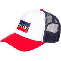Boné Levis Trucker Sportswear Multicolor - Masculino bd06ba27d56