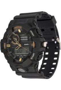 Relógio Analógico Digital Speedo 81156G0 - Unissex - Preto