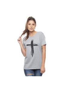 Camiseta Bossa Brasil Cruz Mescla