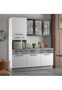 Cozinha Compacta Exclusive 7 Pt 3 Gv Branca