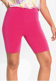 Bermuda Ciclista Rosa Pink