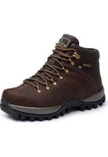 Bota Adventure Cano Alto Macboot Uirapuru 10 Café
