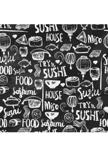 Papel De Parede Adesivo Sushi (0,58M X 2,50M)