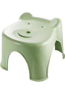 Banquinho Ursinho Jacki Design Lifestyle Verde - Kanui