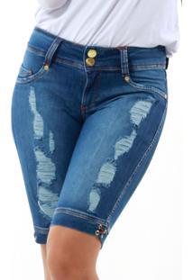 Bermuda Handara Ciclista Jeans.