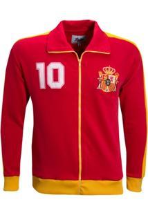 Agasalho Liga Retrô Espanha 1986 - Masculino