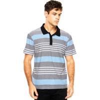 3cc8ea0a83 Camisa Polo Quiksilver Coastal Mo Po Branca Preta Azul