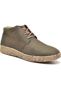 Bota Masculina Sandro Moscoloni Stanley Verde Gree