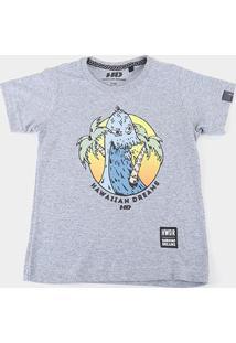 Camiseta Infantil Hd Hawaiian Dreams Masculina - Masculino