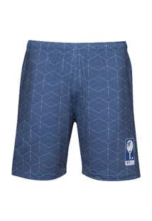 Bermuda Masculina Mormaii Beach Tennis Series Azul