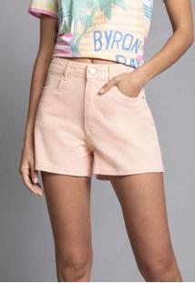 Shorts Califórnia Jeans Salmao Pansy - Lez A Lez
