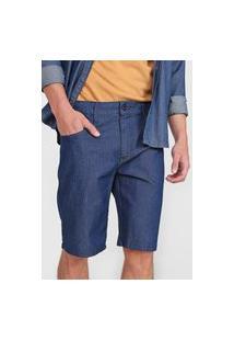 Bermuda Jeans Forum Slim Paul Azul-Marinho