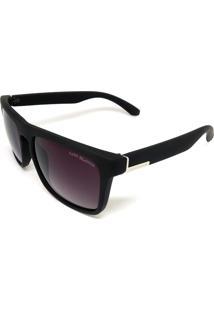 Óculos De Sol Cayo Blanco Quadrado Preto