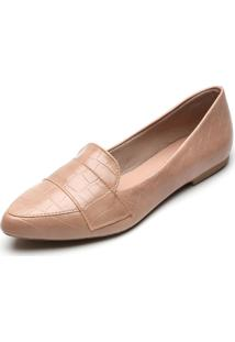 Slipper Dafiti Shoes Croco Rosa