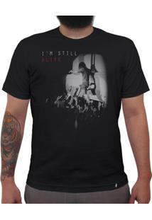 Alive - Camiseta Clássica Masculina