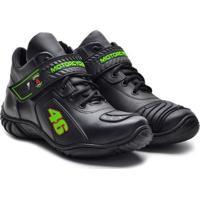 0200a2631 Bota Top Franca Shoes Adventure Masculino - Masculino-Preto+Verde