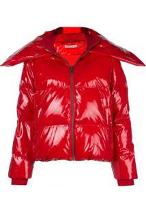 Alice+Olivia Durham Padded Jacket - Vermelho