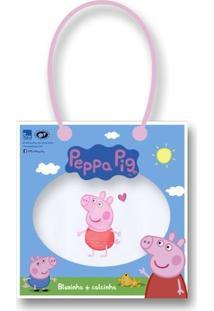 Conjunto Lupo Peppa Pig Blusa + Calcinha - Feminino-Branco