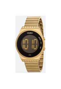 Relógio Feminino Euro Eubjt016Aa/4D Digital 5Atm | Euro | Preto | U