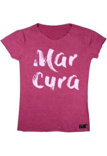 Camiseta Wss T-Shirt Feminina Mar Cura Chiclete - Feminino-Rosa