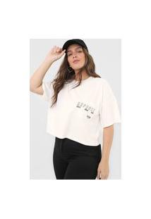 Camiseta Colcci Repense Off-White