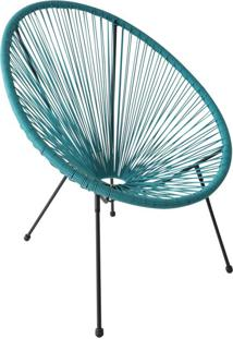 Cadeira De Jardim Acapulco Azul