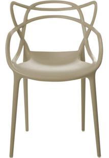 Cadeira Master Allegra Polipropileno Nude - 23148 - Sun House