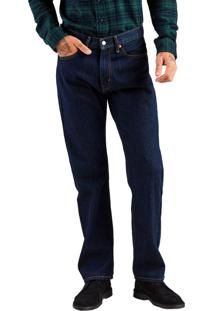 Calça Jeans Levis 505 Regular Escura