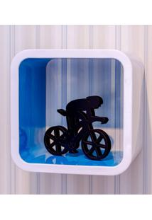 Nicho Quadrado De Plástico 36Cmx19,5Cm Astra Blueberry
