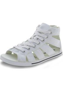Tênis Feminino Ct As Gladiator Mid Converse All Star - 5370 Branco 33