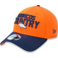 Boné 3930 Denver Broncos Nfl Aba Curva New Era - Masculino-Laranja 74df7377b04