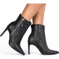 8ba819198 Ankle Boot Com Salto Tanara feminina | Shoes4you