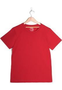 Camiseta Infantil Rovitex Menino Vermelho - 12