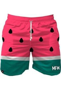 Bermuda Maromba Fight Wear Watermelon Com Bolsos Masculina - Masculino-Rosa