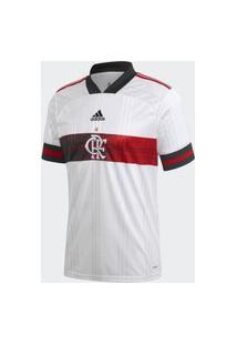Camisa Flamengo Adidas Ii 2020 2021 Branca Sem Patrocínio Ed9166