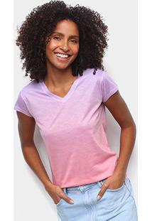 Camiseta Energia Natural Baby Look Básica Feminina - Feminino-Laranja