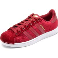18b02c5ee48 Dafiti. Tênis Adidas Originals Superstar W Vermelho